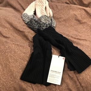 Brand New Twisted Bliss Lululemon Scarf